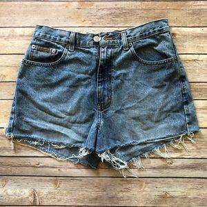 Calvin Klein Jean Distressed Shorts